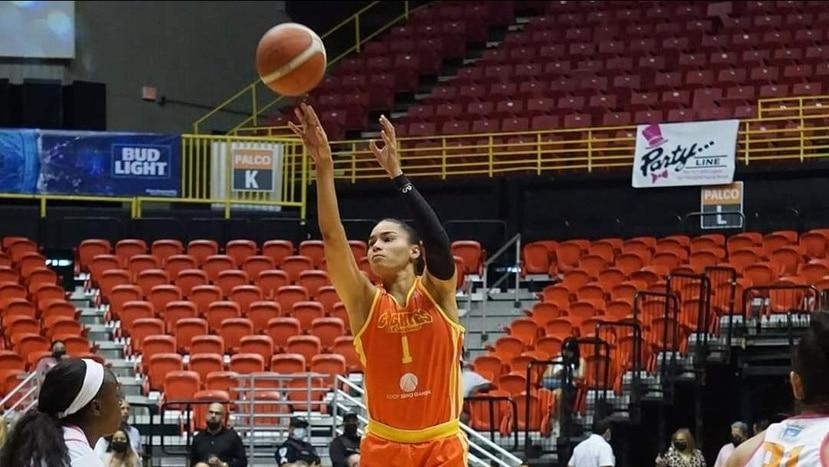 Tayra Melendez, de las Gigantes de Carolina, aportó 19 puntos.