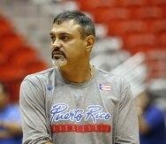 Eddie Casiano, dirigente de la Selección Nacional de baloncesto masculino.