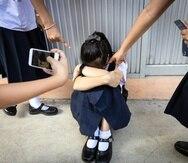 No siempre los padres se dan por enterados cuando sus hijos están siendo víctimas de acoso escolar.