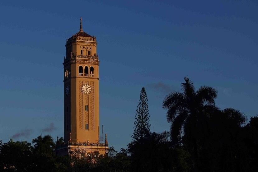 La torre de la UPR en Río Piedras. (GFR Media)