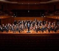 La Orquesta Sinfónica de Puerto Rico.