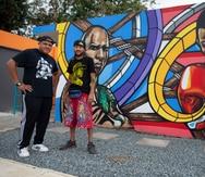 """Mural en honor a Miguel Cotto, Tito Trinidad, """"El Macho"""" Camacho y Wilfred Benítez da nueva vida a un centro que rescata vidas"""