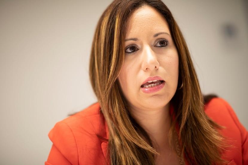 Glorimar Ripoll, directora ejecutiva de la Oficina de Servicio de Tecnología e Innovación de Puerto Rico, reconoció  que hacer posible que los servidores públicos trabajen desde sus hogares requerirá inversiones que aún no se han cuantificado. (GFR Media)
