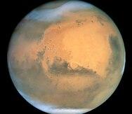 Detectan en la atmósfera de Marte la línea verde del oxígeno