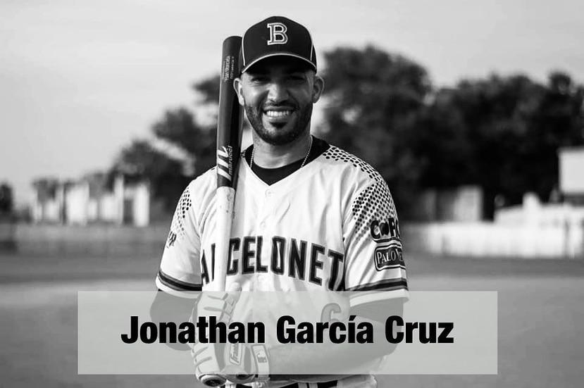 Jonathan García Cruz militaba con los Industriales de Barceloneta en el béisbol Doble A.