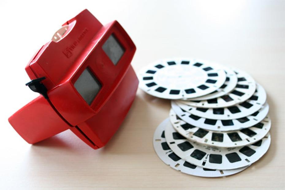 El clásico View-Master es un dispositivo visualizador de discos con imágenes estereoscópicas. (Archivo GFR Media)