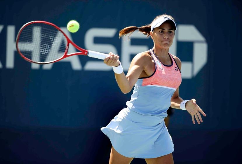 Mónica Puig competirá esta semana en su primer torneo desde octubre de 2019. (AP / Archivo)