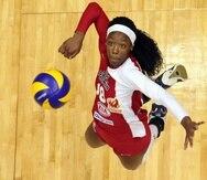 El equipo de Ángel Pérez tuvo de opuesto a Destinee Hooker, una jugadora que fue imparable en el Voleibol Superior.