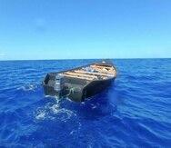 Embarcación interceptada. (Suministrada/ U.S. Coast Guard District 7 PADET San Juan)