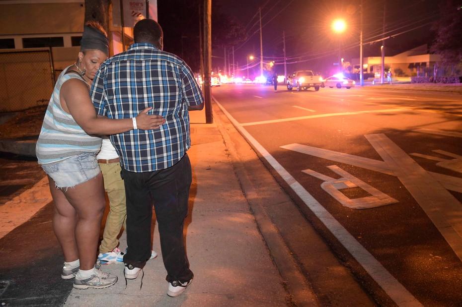 """El tiroteo está siendo investigado como un """"acto de terrorismo"""". (AP)"""