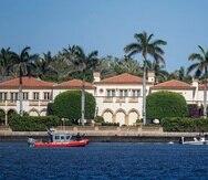 El resort Mar-a-Lago, propiedad del presidente Donald Trump en Florida.