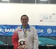 Cristian Azcona obtuvo oro en la categoría de sencillos masculinos del Campeonato Panamericano de Mayores Elite.
