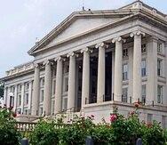 La sede del Departamento del Tesoro, en Washington D.C..