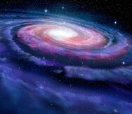 Encuentran objetos misteriosos en el centro de la Vía Láctea