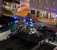 La intervención estuvo a cargo de la Policía Municipal de San Juan.