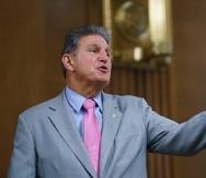 Joe Manchin, presidente del Comité de Energía y Recursos Naturales del Senado.