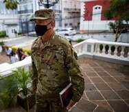 El ayudante general José Reyes.