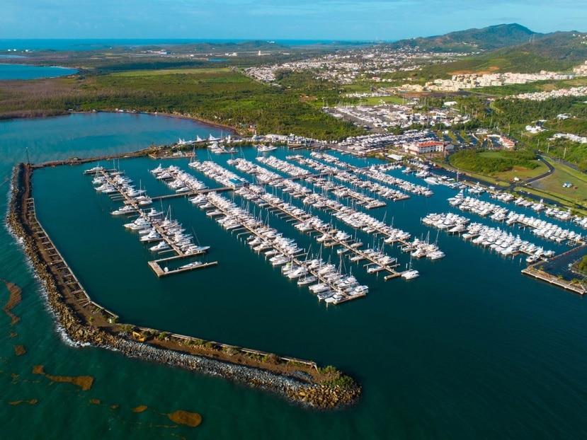 La marina Puerto del Rey en Fajardo tiene unas 144 cuerdas de extensión.