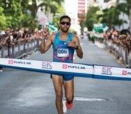 Ricardo Estremera rompió la marca previa de la carrera de 14:39, que ostentaba el aiboniteño César Lam desde el 2007, tras arribar a la meta con tiempo de 14:25. (Suministrada)