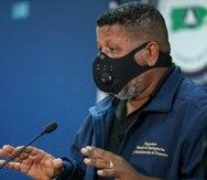 El comisionado interino del Negociado de Manejo de Emergencias y Administración de Desastres, Nino Correa.