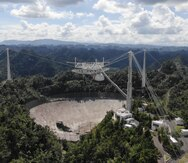 El radiotelescopio de Arecibo y la búsqueda de vida extraterrestre