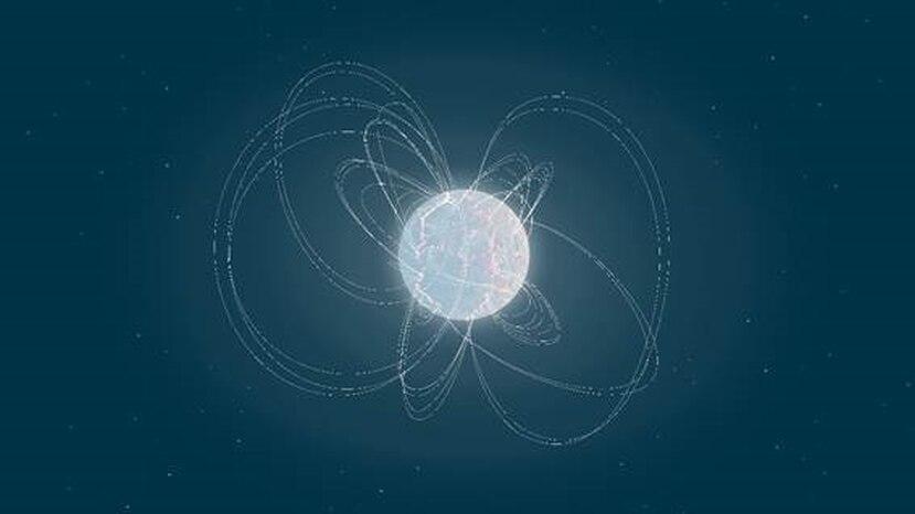 Los magnetares son los objetos cósmicos con los campos magnéticos más fuertes del universo. (ESA/CSIC)