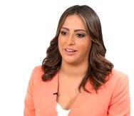 """Tatiana Ortiz es parte de las reporteras de """"Las Noticias"""" de TeleOnce."""