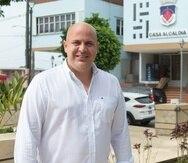 """El alcalde Ángel """"Beto"""" Pérez ve un panorama positivo para lograr avanzar el desarrollo en su pueblo de Moca."""