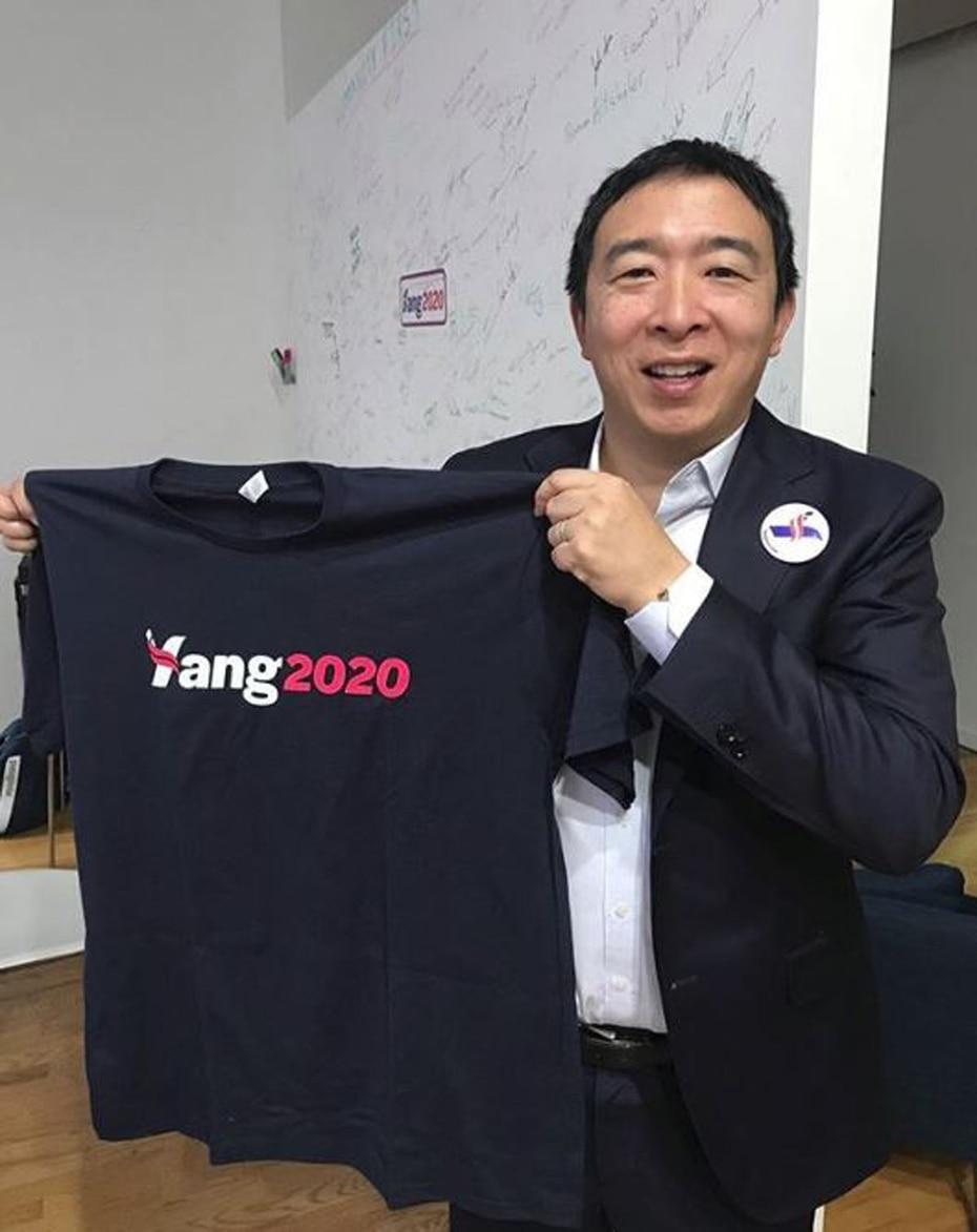 Andrew Yang es un emprendedor, quien dijo en noviembre pasado que quiere dirigir Estados Unidos. (Instagram)