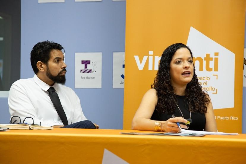 El CEO de Boys & Girls Clubs de Puerto Rico, Eduardo Carrera, y la directora del programa Vimenti, Bárbara Rivera, detallan los resultados del segundo año de operación de la primera escuela chárter establecida en Puerto Rico.