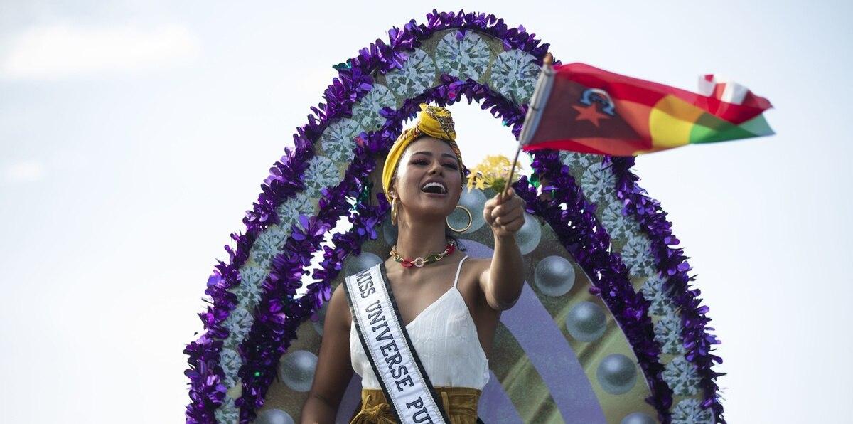Celebran en Loíza a Miss Universe Puerto Rico 2021, Michelle Colón
