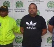 César Peralta permaneció prófugo durante casi cuatro meses, después de que se emitiera una orden de arresto en su contra, el 8 de agosto de 2019, hasta que fue arrestado en diciembre de ese año. (Policía Nacional de Colombia)