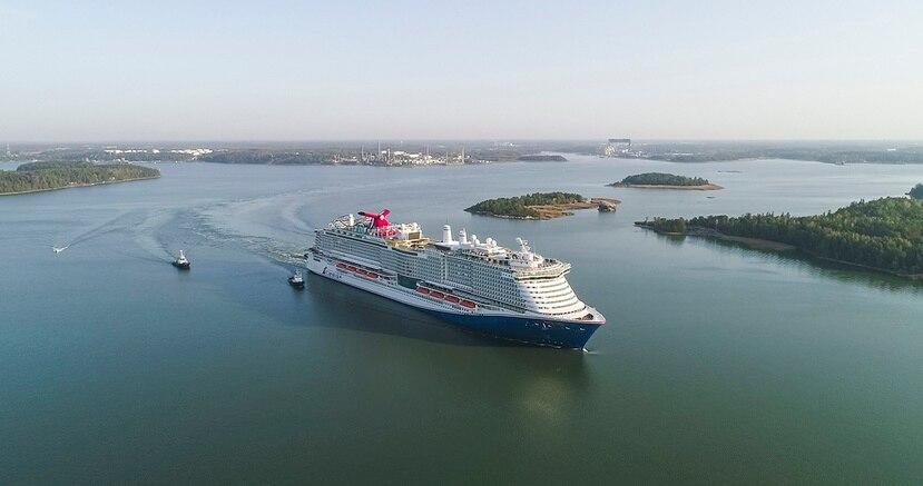 Mardi Gras, uno de los barcos de Carnival Cruise Line.