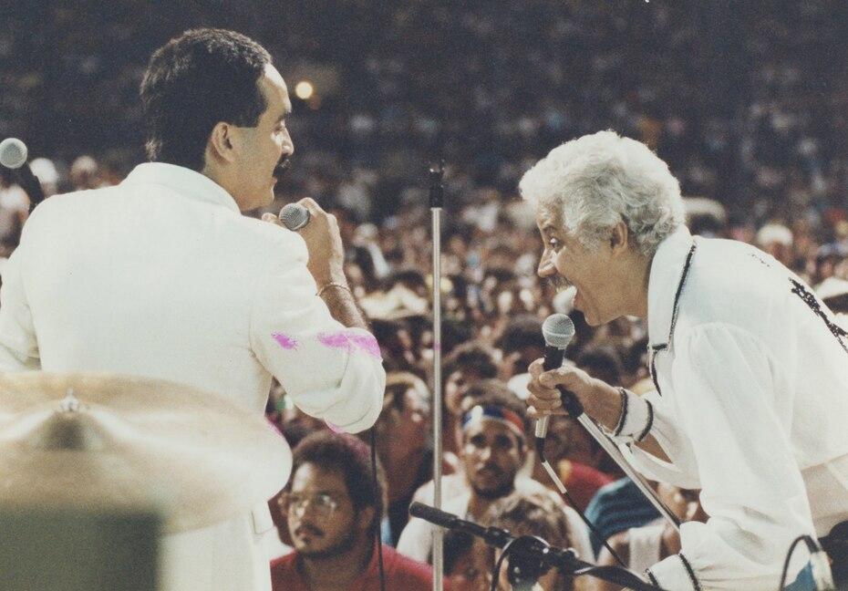 Pacheco popularizó internacionalmente un estilo de baile propio, la Pachanga -fusión del nombre Pacheco con Charanga-, que lo convirtió en una estrella internacional y realizó varias giras por Estados Unidos, Europa, Asia, América Latina e incluso África.