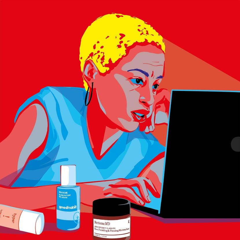 En comparación con los peligros bien comprendidos de la luz ultravioleta (el envejecimiento de la piel y el cáncer), la ciencia aún no tiene claros los efectos en la piel que tienen las fuentes de luz azul en interiores. (Agnes Ricart/The New York Times)