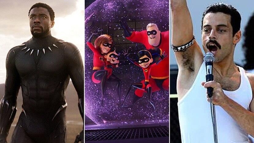 """Las películas """"Incredibles 2"""" y """"Bohemian Rhapsody"""" están en la lista. (Emol/GDA)"""