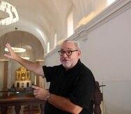 El arquitecto Jorge Rigau ganó el Premio Nacional de Arquitectura por proyecto de conservación de la Iglesia San José, en el Viejo San Juan.