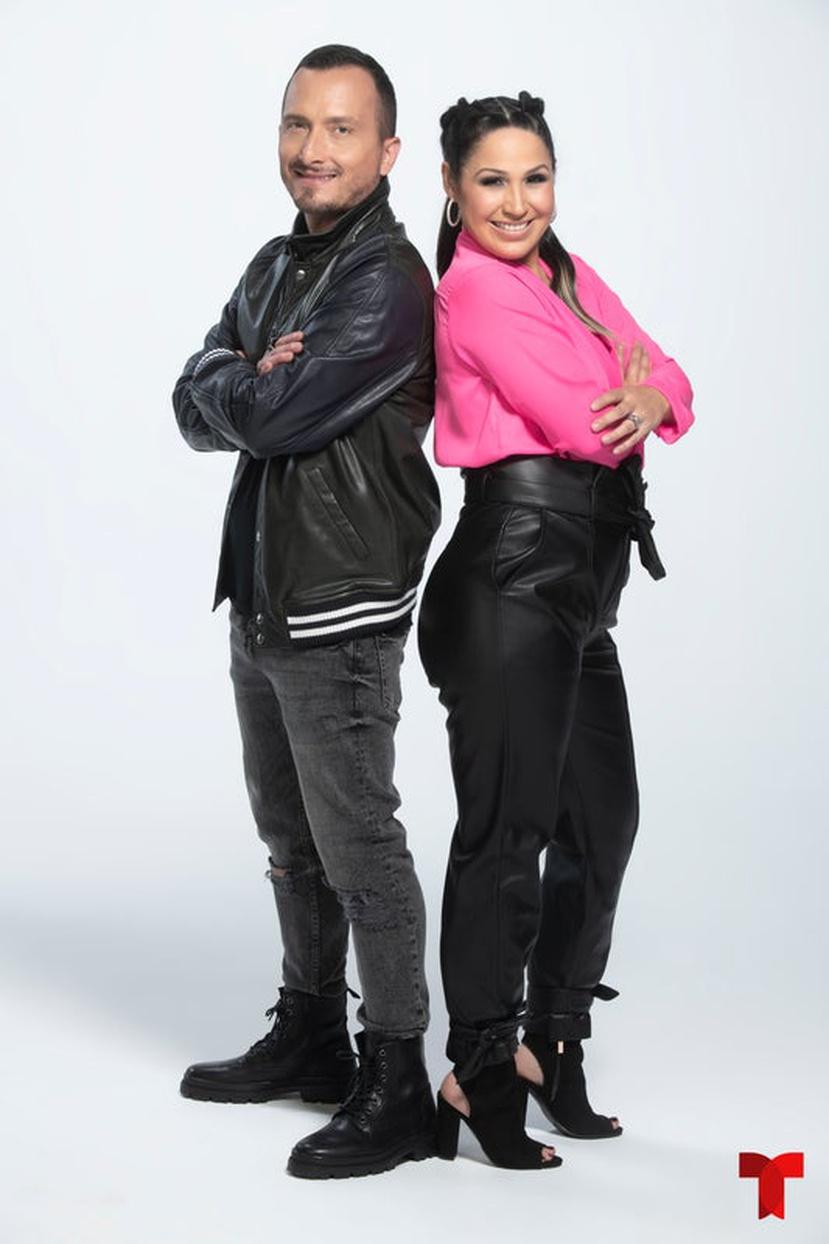 Obie Bermúdez y Jennifer Peña son una de las diez parejas que formará parte del nuevo espacio.