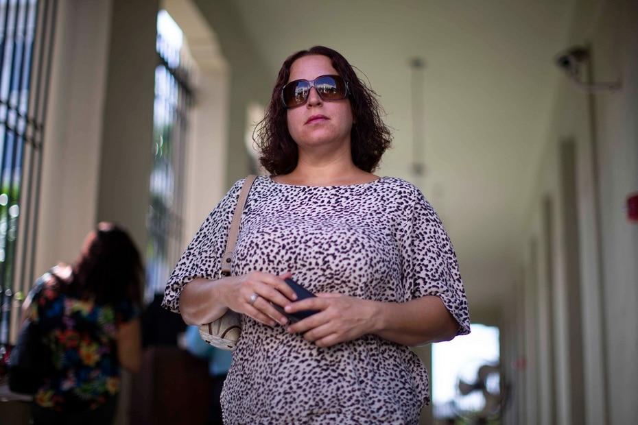 La coacusada lloró tras el veredicto, precisó el periodista Alex Figueroa para El Nuevo Día.