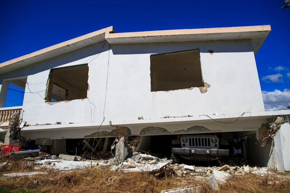 Vecinos de la comunidad de Alturas del Cafetal en Yauco dicen que no han visto progreso tras la visita de líderes políticos en la zona afectada por el terremoto del 7 de enero de 2020.