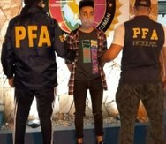 Julián Ovejero estuvo prófugo de las autoridades por tres años y medio, hasta que fue arrestado el jueves pasado en Tucumán, Argentina.