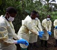La OMS confirma 20 muertes por ébola en la República Democrática del Congo