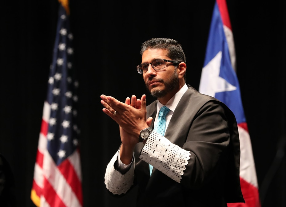 Luis F. Estrella Martínez - El 9 de mayo de 2011 fue nombrado juez asociado por el entonces gobernador Luis Fortuño Burset y confirmado por el Senado presidido por Thomas Rivera Schatz. (GFR Media)