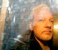 Julian Assange. (AP)