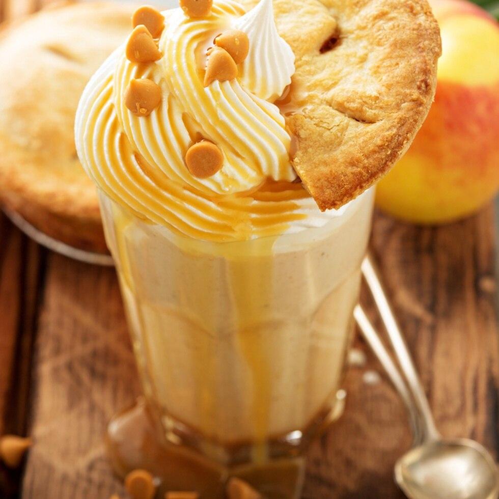 """La nueva """"Apple Pie Shake"""" está disponible en todos los restaurantes de la isla."""
