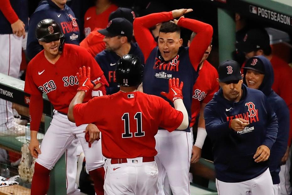 Boston llegó a la Serie Divisional por el comodín de la liga, y eliminó al mejor equipo de la Americana en la fase regular. Tampa Bay ganó 100 juegos.