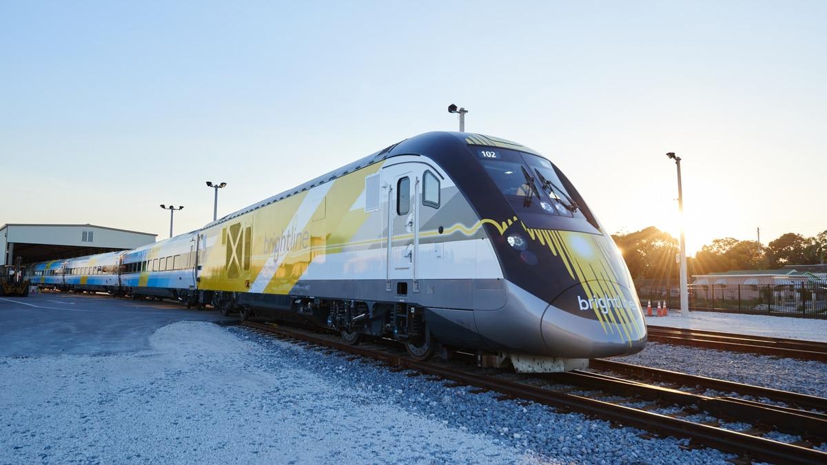 tren de alta velocidad de Florida