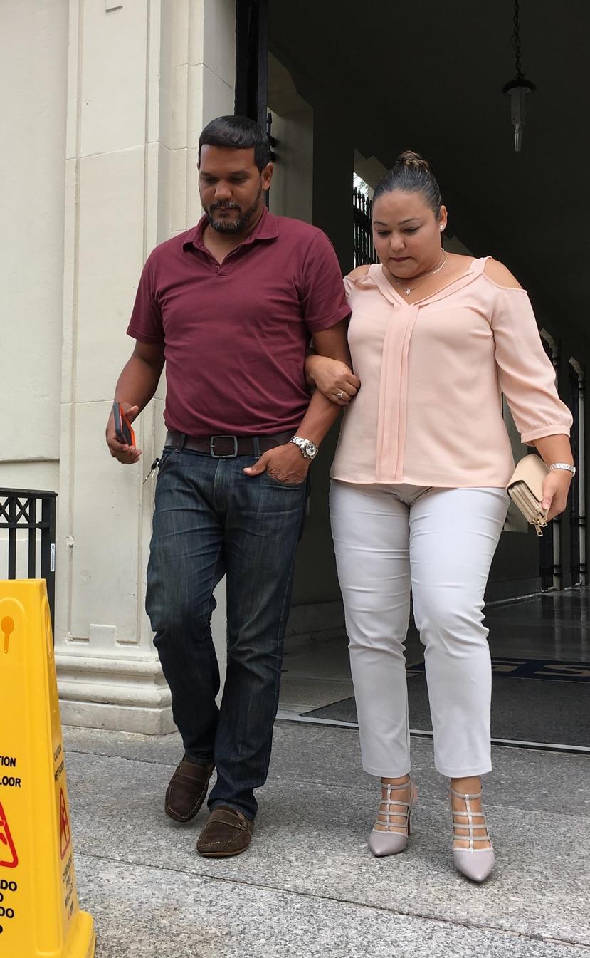 """El viernes, Ángel """"Chago"""" Marcano Rivera testificó en el juicio federal contra Áurea Vázquez Rijos y otros dos acusados."""