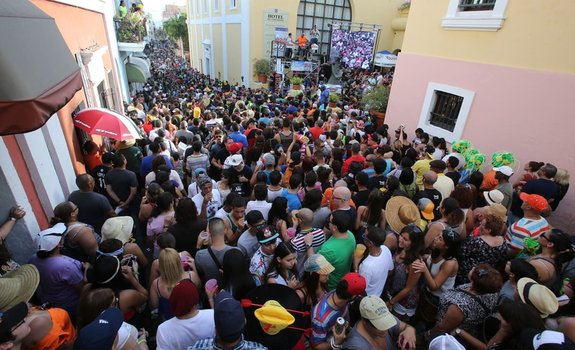 Las Fiestas de la Calle San Sebastián se llevan a cabo desde hoy, miércoles, hasta el domingo 21 de enero. (GFR Media)