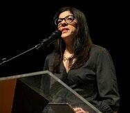 En la foto, Mariana Nogales, candidata a representante por acumulación.